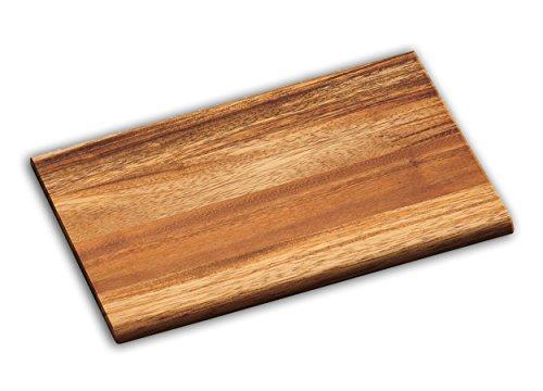 Snijplank acaciahout 23x15x1cm ontbijtplankje snijplank keukenplank houten plank acaciahout 07