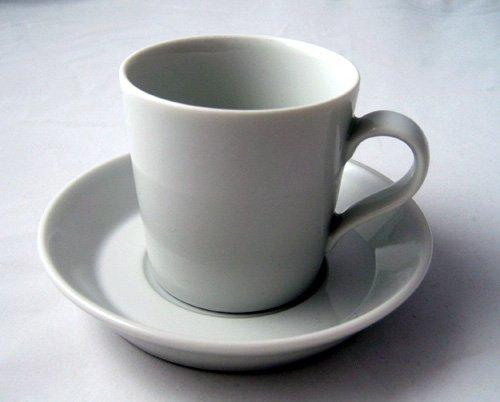 Arzberg Tric Weiss Mokka / Espresso Tasse 2tlg.