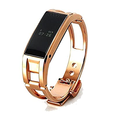 Pandaoo D8 Bluetooth Smart Watch Metal WristWatch for Sony Nokia HTC Huawei LG Android SmartPhones(silver)