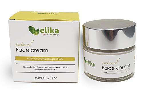 """Elikafoods - Crema Facial Natural """"Itzae"""", Filtros Solares FPS15, Hidratante, Reafirmante. Ingredientes..."""