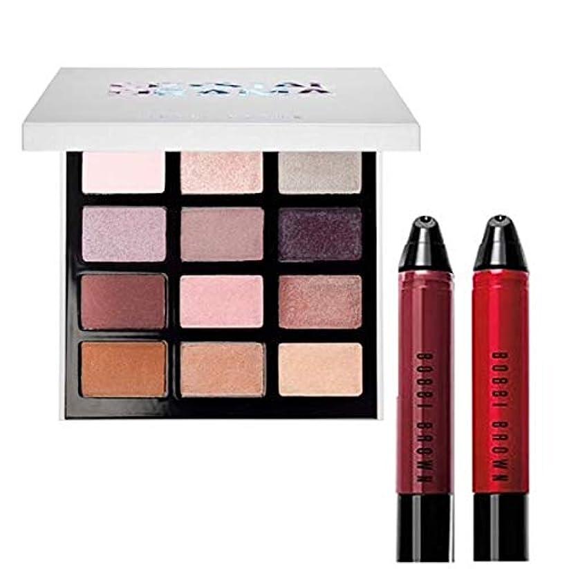 居住者呼吸吸収剤Bobbi Brown 限定版,Crystal Drama Eyeshadow Palette & Lip Art Mini Art Stick Liquid Lip 2Set [海外直送品] [並行輸入品]