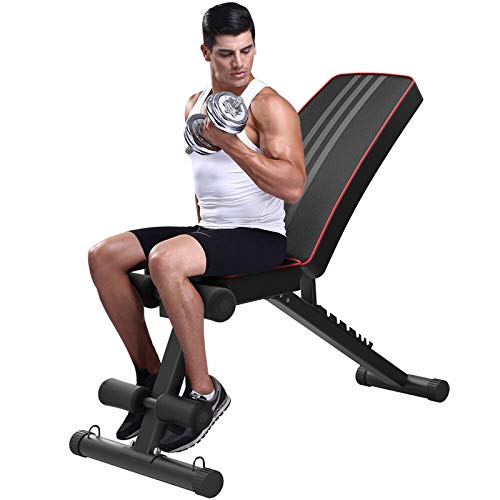 NC56 Multifunktionale Hantel Hocker Fitness Stuhl Fliegende Vogel Hocker Bauchmuskeln Sit-Ups Board Home Sport Fitnessgeräte