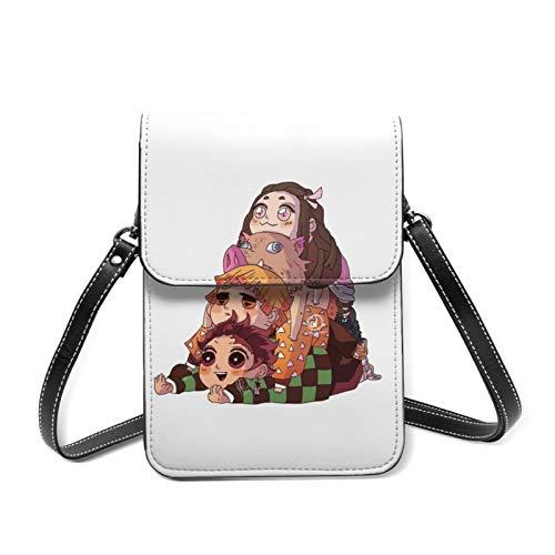 I Wish They'll Have Funpop Damen-Handtasche aus echtem Leder