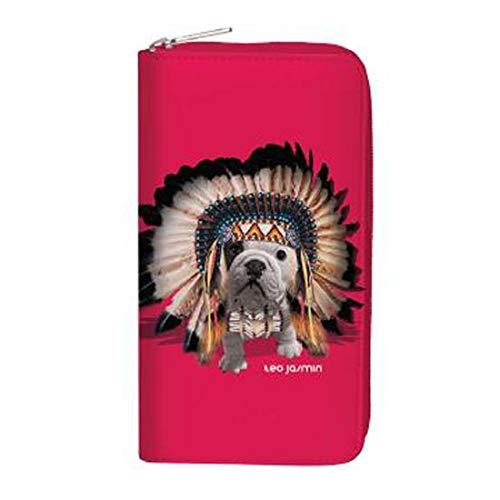 Brieftasche (Katzen/Kätzchen) Teo Jasmin Wallet 627 / TEOAPACHE Rouge