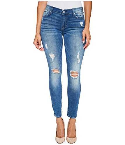 7 For All Mankind Women's Ankle Skinny Jean, Radiant Pier, 29