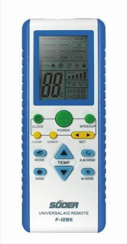Mando a distancia para climatizador De aire aondicionador Samsung Panasonic Mitsubishi Hitachi Sharp Sanyo Lg De Longhi ...