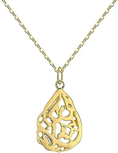 WYDSFWL Collar Dorado con Colgante musulmán para Mujer, islámico religioso, joyería árabe de Alá, Collar Persa, Collar Vintage, Regalo, Regalo
