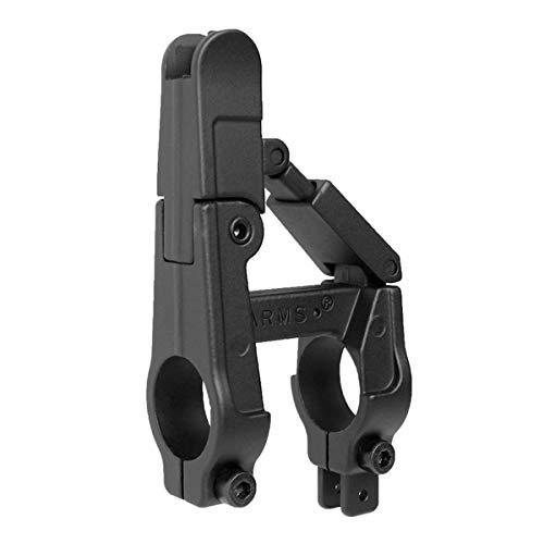ANS optical ARMSタイプ フォールディング フロントサイト M4シリーズ対応 BK ブラック 41-B レプリカ アイ...