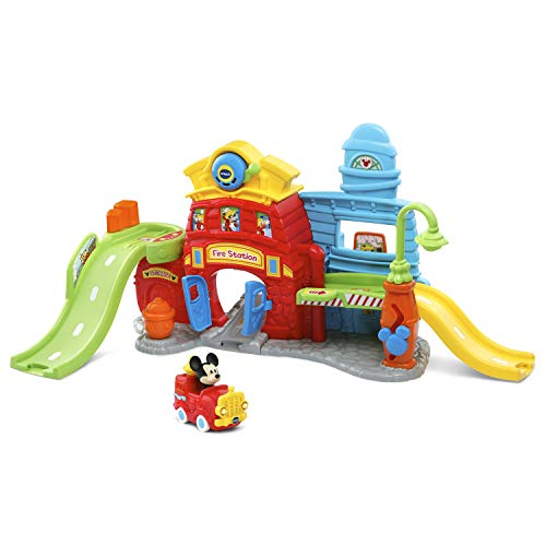 VTech Go! Go! Smart Wheels - Disney Mickey Mouse Silly Slides Fire Station