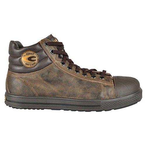 Cofra 35031-004.W43 Chaussures de sécurité Stoppata S3 SRC Taille 43 Marron