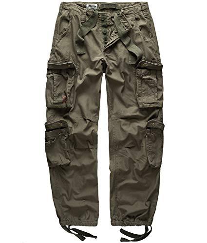 Surplus Airborne Vintage Trouser, Pantalone Uomo, Verde (Oliv), XXL