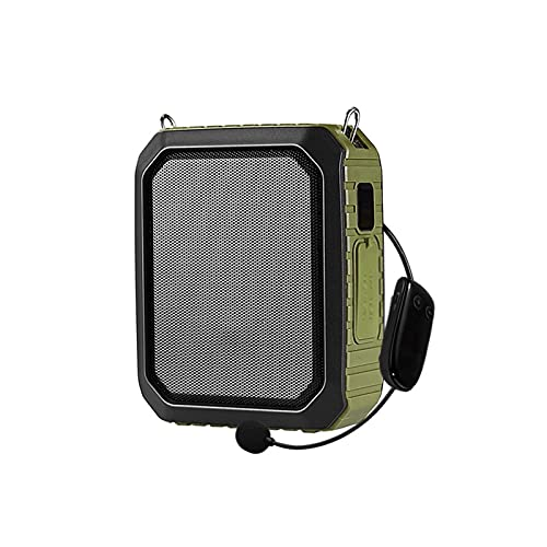 WJYZYHM 1 8w 4400mAh Altavoz inalámbrico Guía de Profesores de Bluetooth Altavoz con función de Carga Altavoz de Altavoz de Bolsillo Portátil Portátil Mini Altavoz con micrófono de Cable