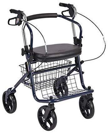 MJY Wagen, Einkauf Cartold Man Trolley, Kaufen Kann Den Alten/Tragbaren Falten Roller/Rollstuhl Krücken/Vierrädrige Scooter,a