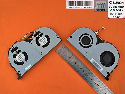 Kompatibel für Lenovo Y70-70 Touch Lüfter Kühler Fan Cooler