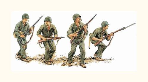 Dragon - D6379 - Maquette - US Marines Guadalcanal 1942 - Echelle 1:35