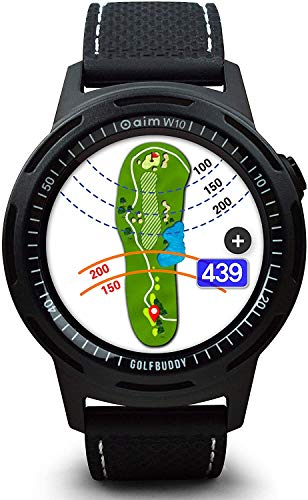 smartwatch de golf golfbuddy W10
