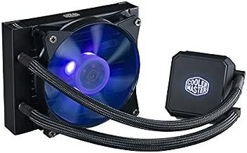Cooler Master MasterLiquid LC120E RGB Close-Loop AIO CPU Liquid Cooler, 120mm Radiator, Dual Chamber RGB Pump, Dual MF120R RGB Fans, RGB Lighting for AMD Ryzen/Intel LGA1200/1151