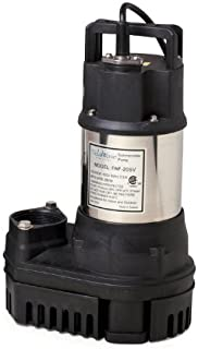 Atlantic PAF-20 Solids Handling Pond and Waterfall Pump, 2800GPH