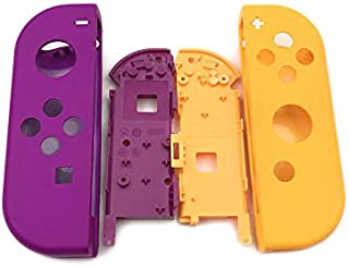 Full Housing Faceplate Handle Shells Case Cover with Battery Middle Frame Shell Plate for Nintendo Switch Controller Joy-C...