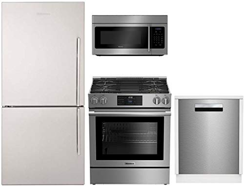 Blomberg 4 Piece Kitchen Appliances Package with...