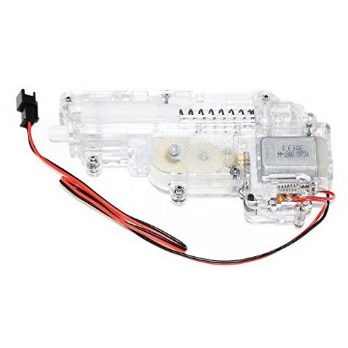 Airsoft Softair Ausrüstung CYMA Transparent Mini Full Getriebe Gearbox mit Motor für UZI Serie AEG