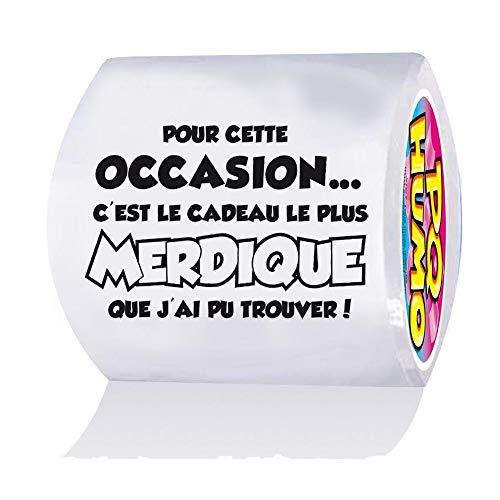 Papier toilette humoristique
