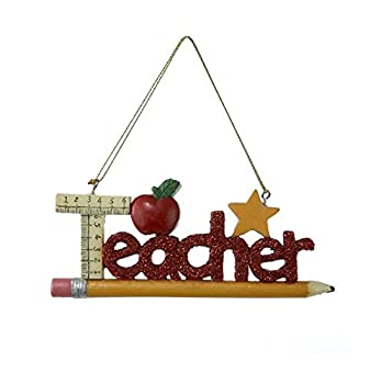 Teacher Christmas Ornament Thank You Appreciation Gift