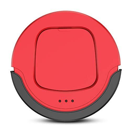 Robot Aspirapolvere Professionale 3 in 1, Scopa Aspira Passa Il Panno E Lava Adatto A Pavimenti E Tappeti Ottimo Per I Peli Degli Animali Domestici,Rosso