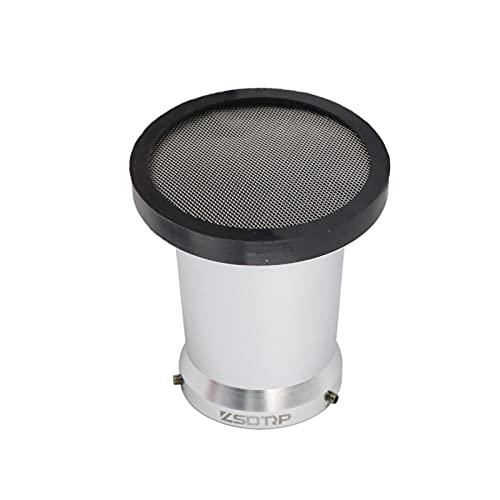 Taza de Cuerno de Viento con carburador de Motocicletas de Malla, Filtro de Aire, para OKO KOSO MIKUNI PWK 21/24/26/28/30/32/3 4mm PE28 PE30 (Color : Silver 50mm)