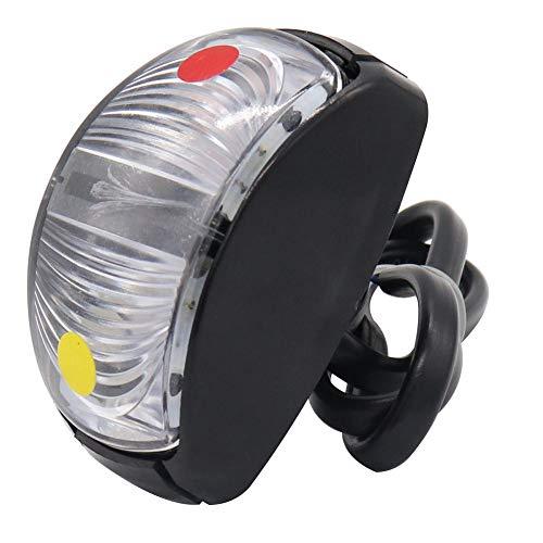Matefielduk LED-zijlichten voor vrachtwagens, aanhangers, rode en gele LED, 10-30 V, voor vrachtwagen, aanhangers, caravans
