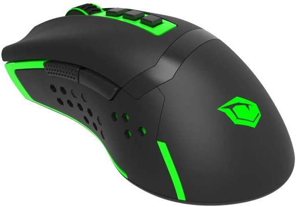 11 opinioni per Monster Pusat V9 Mouse Gaming Wireless RGB 4800 DPI, con 7 tasti programmabili
