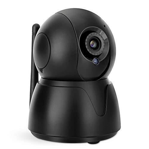 HiKam Q8 3.Gen Überwachungskamera mit Support in Deutschland | 360 Grad | Personenerkennung | Alexa kompatibel | IP WLAN Kamera innen | Babyphone mit Kamera App | Datensicherung und Cloud in DE