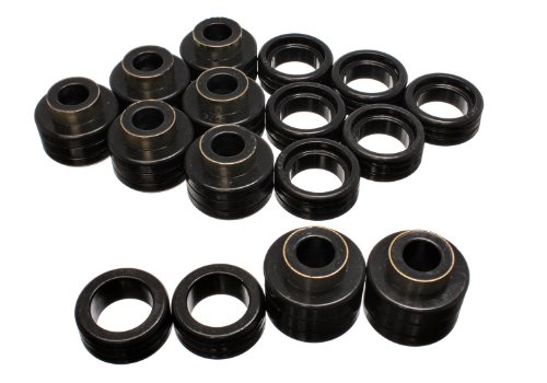 Energy Suspension 3.4122G Control Arm Bushing 2WD and 4WD Body Mount for Chevy Xtra