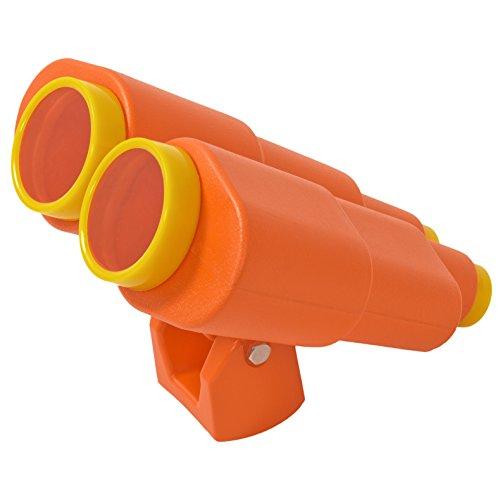 Großes Fernglas für Spieltürme; Spiel-Fernrohr aus PE inkl. Befestigungsmaterial