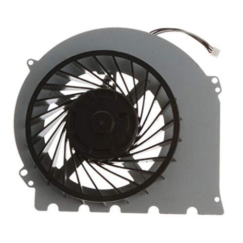 FOY Ventilador de refrigeración Interno de Repuesto Pieza de refrigeración incorporada para PS4 Slim KSB0912HD Negro