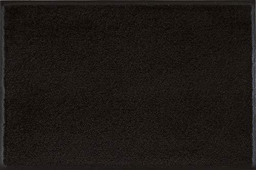 Wash+Dry - Alfombra Raven Black 40x60, Negro