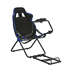 Stylish and attractive racing seat simulator for a fun and realistic racing experience at home, suitable for games consoles and PC's Moulded bucket seat design with padding for a comfortable and immersive driving game experience Compatible with Logit...