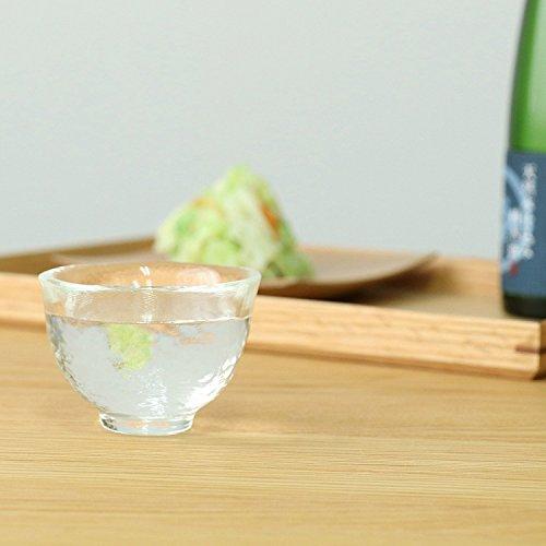 アデリア津軽びいどろ耐熱ガラス酒器盃小クリア50ml電子レンジ対応日本製F-49091