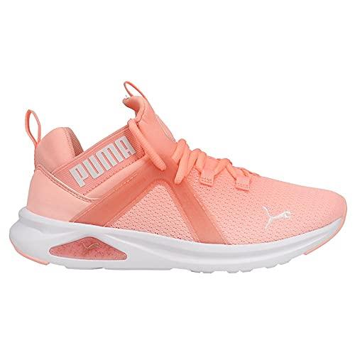 PUMA Enzo 2 Speckle Womens Training Shoes in Elektro Peach/White, Size 10