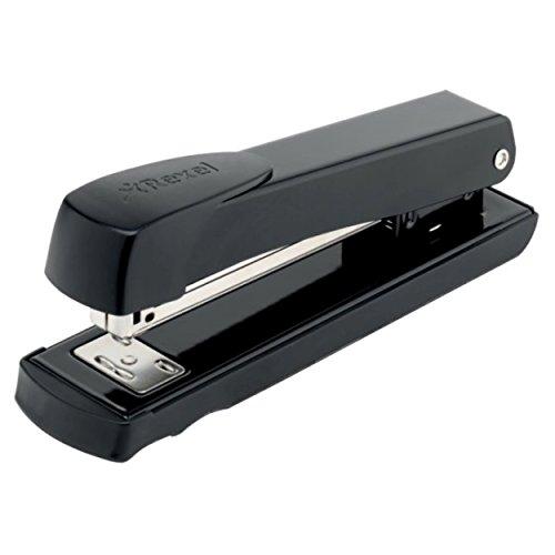 Rexel Aquarius Full Strip Stapler, 25 Sheet Capacity, Uses 24 6  and 26 6 Staples, Metal Body, Plastic Casing, Black, 2100016