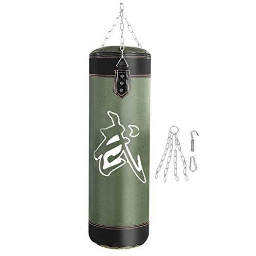 Sacchi da boxe, Kick Bag Boxing Attrezzature per l'allenamento di boxe(60CM-verde )