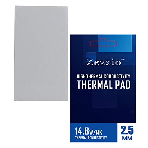 MagiDeal Almohadilla térmica para CPU LED Enfriador Resistencia al Calor Relleno de Huecos Resistencia a Altas temperaturas Memoria SSD Enfriador para Equipos - 85x45x2,5 mm