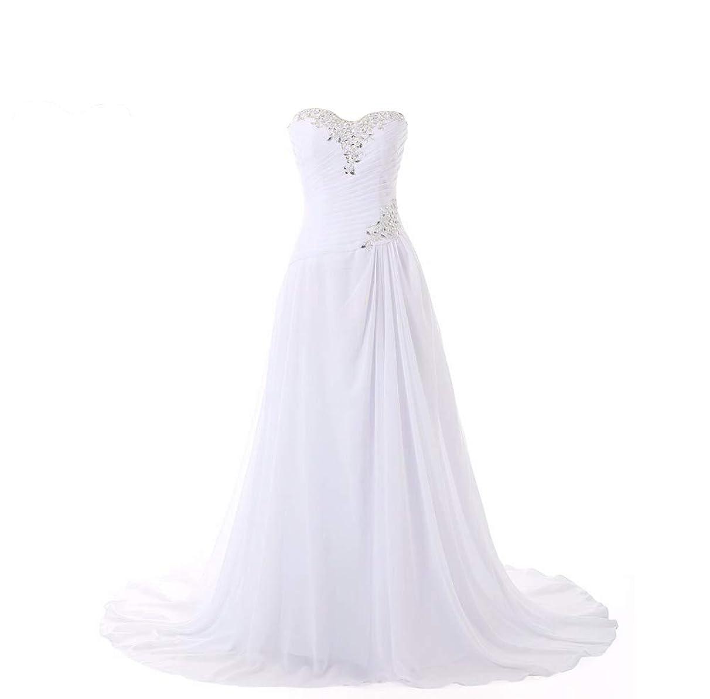 Seasail Chiffon Beach Wedding Dress A Line Boho Vintage Wedding Dress 2019 Robe De Mariage Bridal Gown
