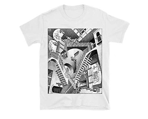 MC Escher Triblend TShirtT Shirt Hoodie for Men, Women Unisex Full Size.