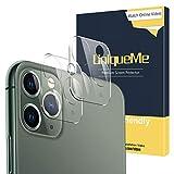 [2 pièces] UniqueMe Caméra Arrière Protecteur pour iPhone 11 pro/iPhone 11 pro max, [Dureté 9H] [Film HD] [Ultra Résistant],Verre trempé Protection écran pour iPhone 11 pro/iPhone 11 pro max