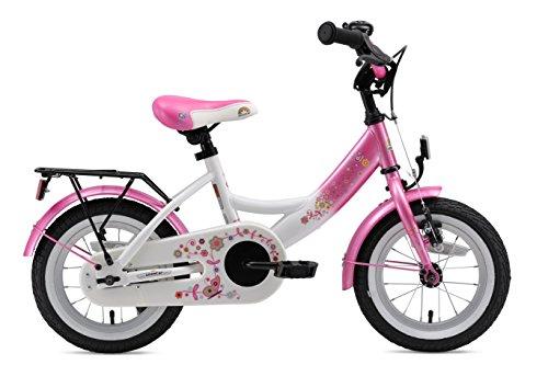 BIKESTAR Premium Sicherheits Kinderfahrrad 12 Zoll für Mädchen ab 3-4 Jahre | 12er Kinderrad Classic | Fahrrad für Kinder Pink & Weiß - 3
