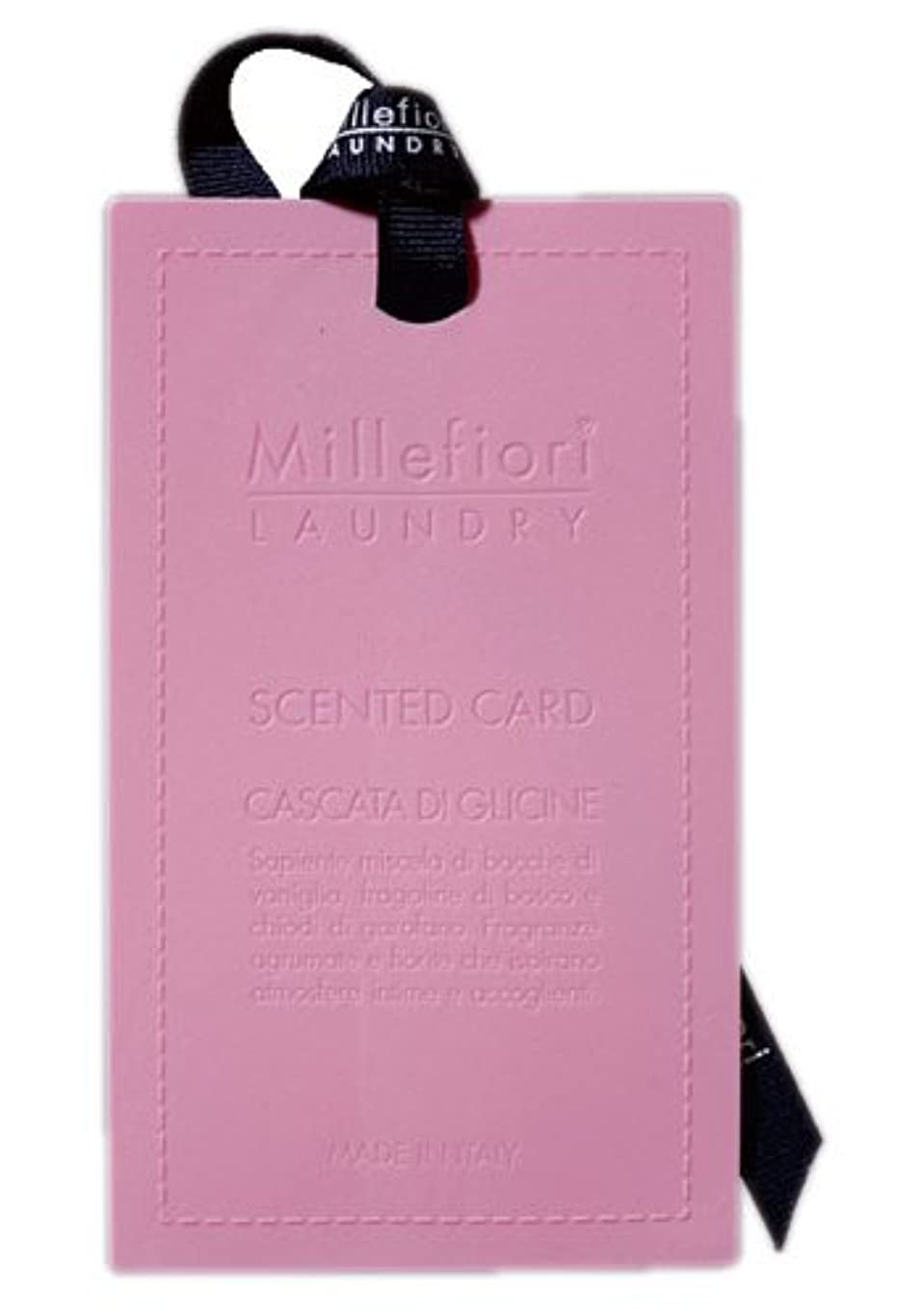 パウダーそれに応じて登るMillefiori センテッドカード ウィステリア CARD-A-003