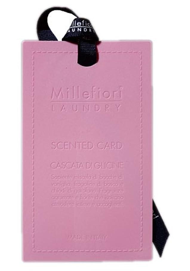 険しい斧毎週Millefiori センテッドカード ウィステリア CARD-A-003