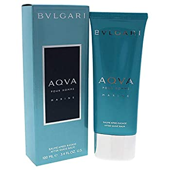 Bvlgari Aqva Pour Homme Marine After Shave Balm for Men 3.4 Fluid Ounce