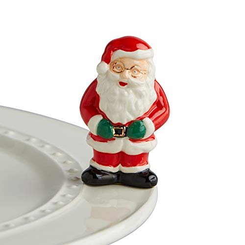 Nora Fleming Hand-Painted Mini: Father Christmas (Santa Claus) A221